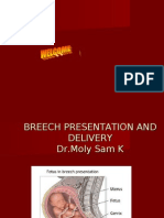 Breech Presentation Dr Moly Sam K on 17-04-2010 Final