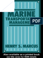 Henry S. Marcus-Marine Transportation Management (1986)