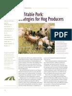 Profitable Pork