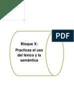 Bloque 10 (Practicas El Uso Del Léxico y La Semántica)