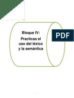 Bloque 4 (Uso Del Léxico y La Semántica)