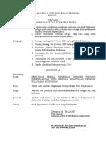 Sk Pemberlakuan Buku Pedoman Dan Panduan
