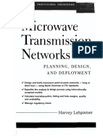 Microwave Transmission Networks Planning Design and Deployment