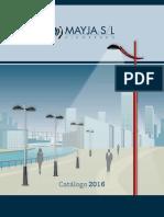 201602 Mayja Catálogo 2016 Bj