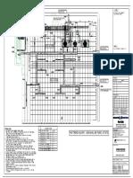 102_220kv - Drainage Layout of Switchyard-model