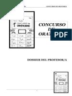 Dossier del Concurso de Oratoria (IES Salvador Espriu)