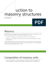 Introduction to Masonry Structures