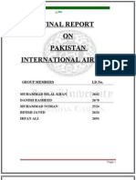 Report On The Management Of P.I.A