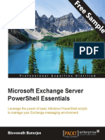 Microsoft Exchange Server PowerShell Essentials - Sample Chapter