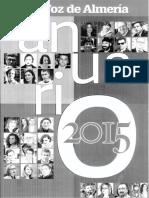 Anuario 2015 La Voz de Almería