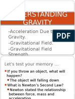 Understanding Gravity - PHYSICS FORM 4