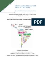 VIII CoLaCyR Documentos y Presentaciones Del Congreso