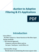 Adaptive Filtering2