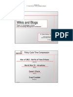 Wikis and Blogs. Andrus-CIA