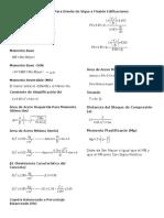 Formulario - Vigas en Edificaciones