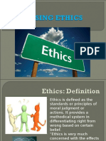 Unit I - Ethics