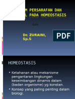 Kontrol Syaraf Pada Homeostasis 1