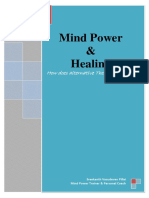 Mind Power and Healing - By Sreekanth