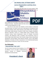 "PROFILE OF REPUTED NGO ""Deepshikha Mahila Bal Utthan Samiti"""
