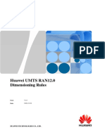 Huawei UMTS RAN12.0 Dimensioning Rules V1.0