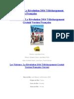 Les Visiteurs La Révolution 2016 Téléchargement Gratuit Version Française