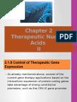 Therapeutic Nucleic Acids 2