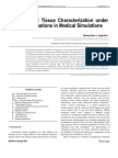2009Efficient Soft Tissue Characterization Under Large Deformations in Medical Simulations