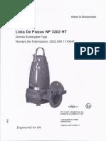 Manual Bomba FLYGT 3202