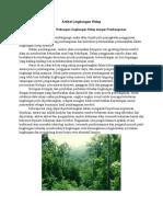 Artikel Lingkungan Hidup