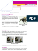 _How Lock Picking Works