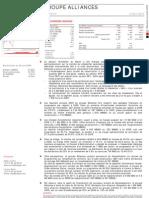 Flash R+®sultat 2009- ALLIANCES -
