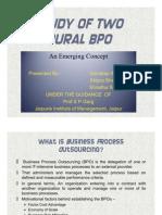Rural oriented BPOs