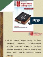 İzmir Uluslararası Bilişim Hukuku Kurultayı - Tanıtım