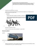 1 ACCION Y REACCION El Principio de Acción y Reacción Corresponde a La Tercera Ley de Newton