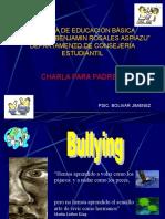 Charlas Para Padres Del Bulling