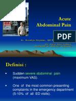 01 Dr. Nurcahya Acut Abdomen