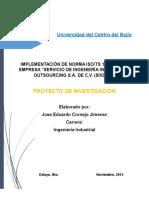 IMPLEMENTACION DE LA NORMA ISO TS 16949.docx