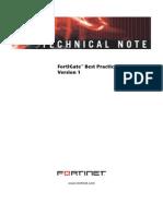 FortiGate Best Practices