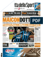 Gazzetta Dello Sport 17-04-2010