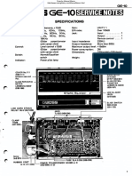 Boss GE-10 Service Notes