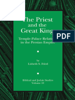 Lisbeth S. Fried-The Priest and the Great King_ Temple-Palace Relations in the Persian Empire