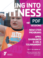 Dow Bay Area Family YMCA Spring Program Guide 2016