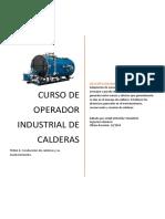 Curso de Operador Industrial de Calderas Capitulo8