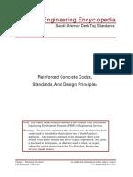 Reinforced Concrete Codes, Standards, And Design Principles