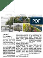 Konsep dan Skematik Taman Sanggau