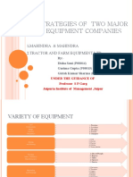 Marketing Strategies for Farm Equipment