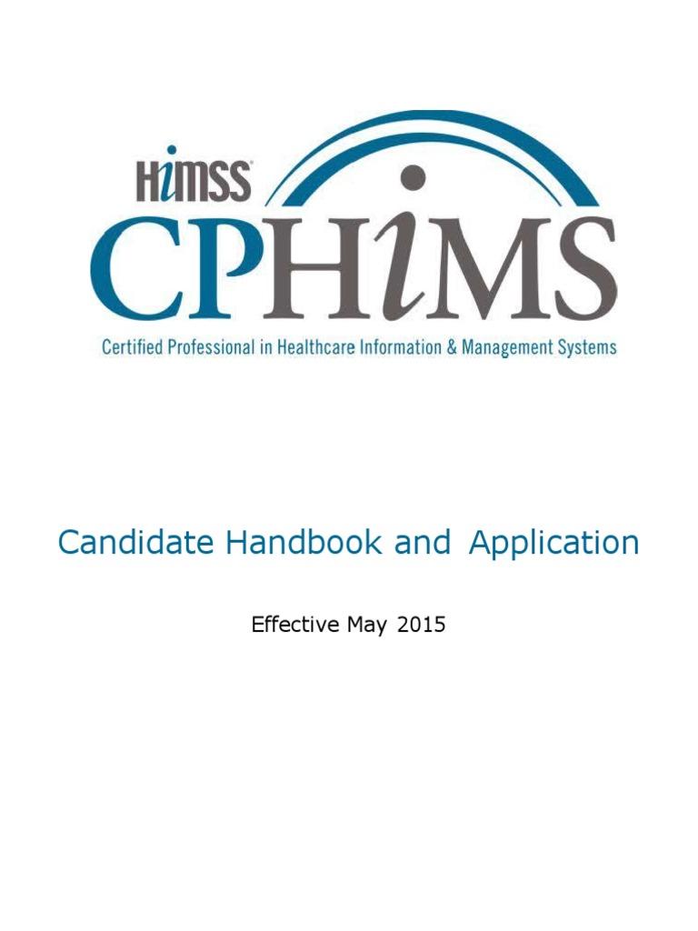 Cphims Handbook May 2015web Identity Document Test Assessment