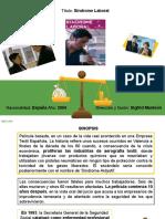 Analisis Pelicula Salud Laboral