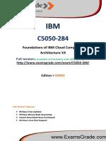 C5050-284 IBM Test Practice Questions PDF