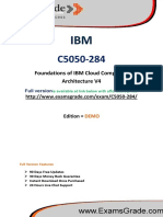 C5050-284 IBM Test Practice Questions PDF